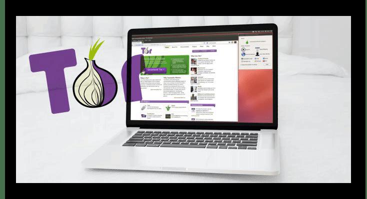 Картинка Ноутбук с Tor