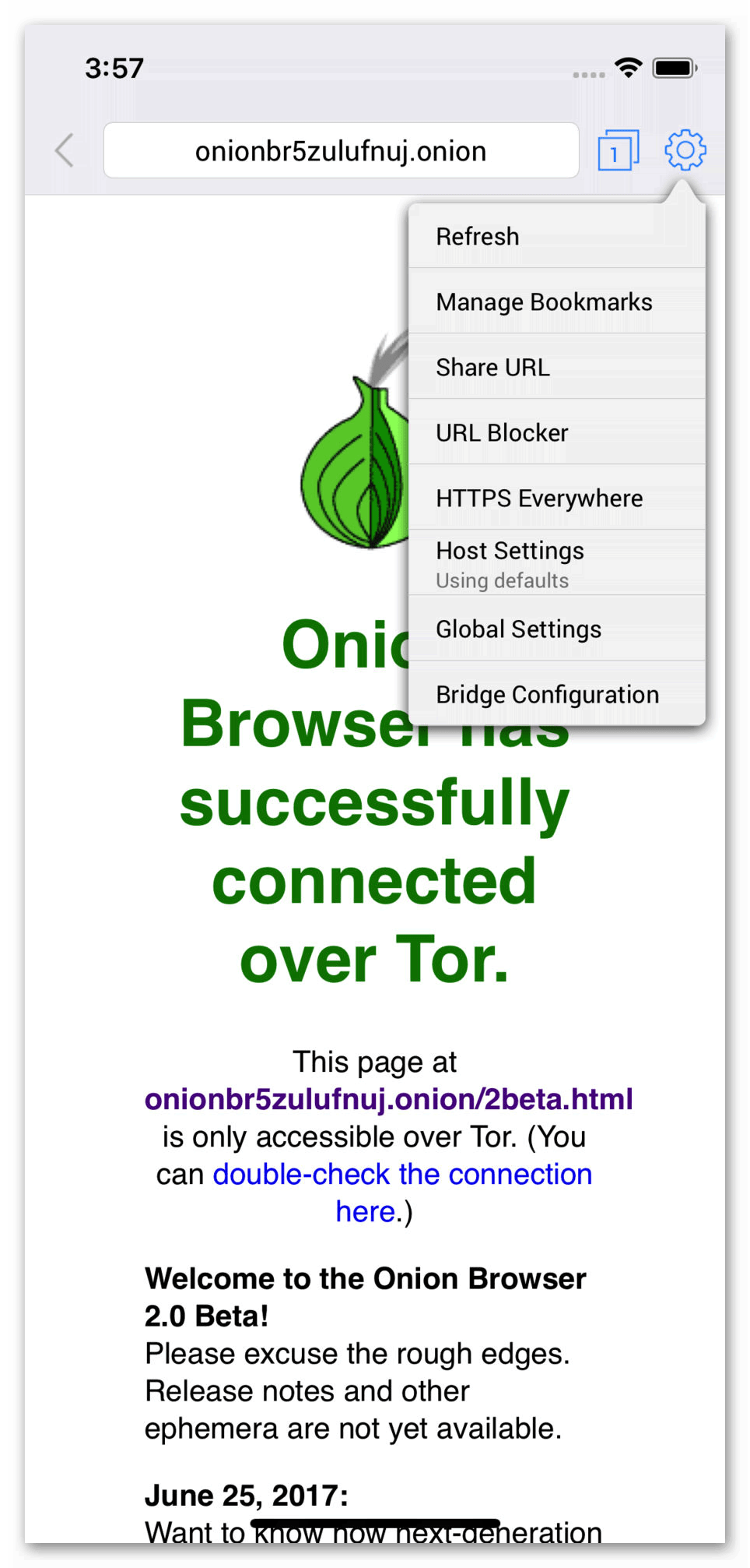 Картинка Onion Browser