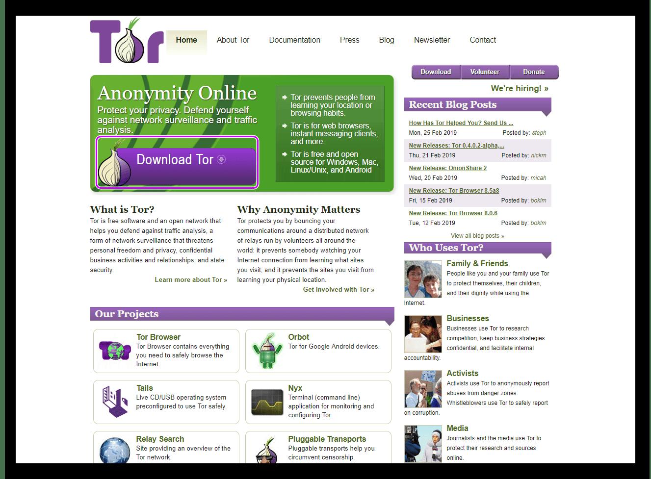 Скачать Tor Browser для Windows 10