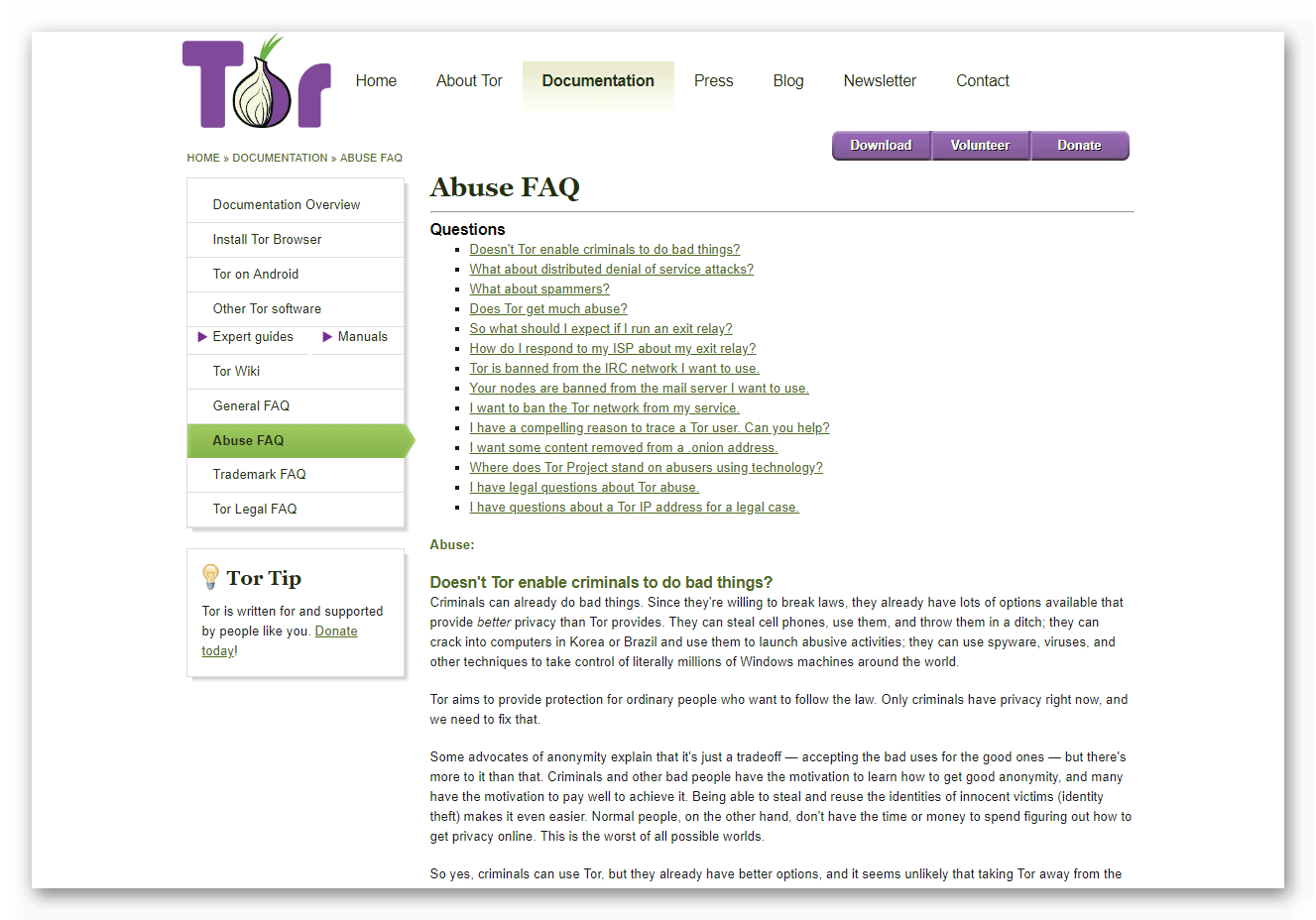 загрузка tor browser bundle